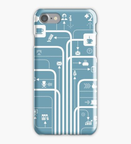 Office a line iPhone Case/Skin