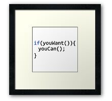 If you want, you can Framed Print