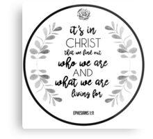 Christian Quote Metal Print