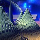 """Starship """" Limitless Journey """". by AlienVisitor"""