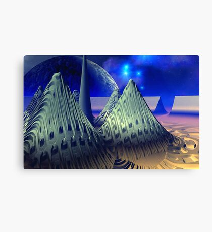 "Starship "" Limitless Journey "". Canvas Print"