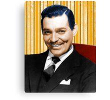Handsome Clark Gable Portrait Canvas Print