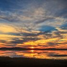 Sunset Spreads over Plum Island by Owed to Nature
