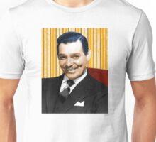 Handsome Clark Gable Portrait Unisex T-Shirt