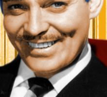 Handsome Clark Gable Portrait Sticker