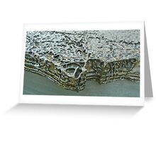 Sea Sculpture Greeting Card