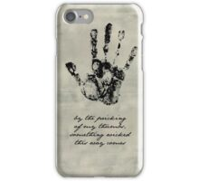 Shakespeare Macbeth - Something Wicked This Way Comes iPhone Case/Skin