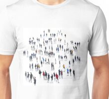 Arty Party with Lowry, Giacometti and McBride Unisex T-Shirt