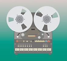 Reel to Reel  by crispdesigns