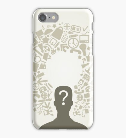 Office person iPhone Case/Skin