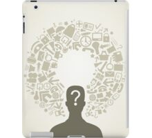 Office person iPad Case/Skin