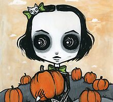 Scarlett pumpkin patch by Saide
