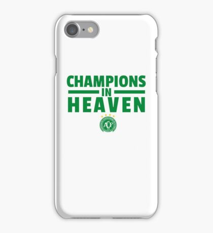 Chapecoense t shirt iPhone Case/Skin