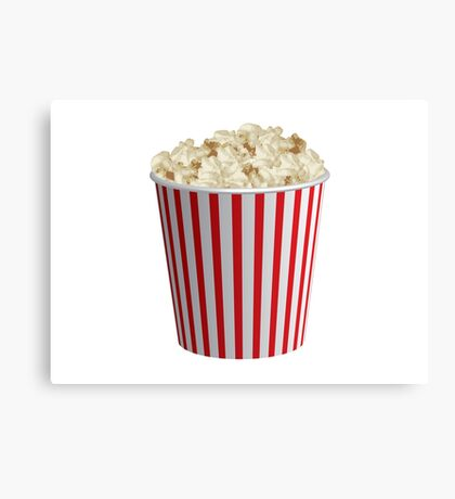 COOL POP CORN Canvas Print