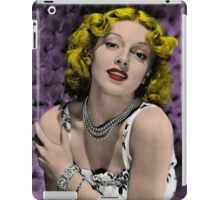 Hollywood Bombshell Lana Turner iPad Case/Skin