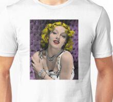 Hollywood Bombshell Lana Turner Unisex T-Shirt