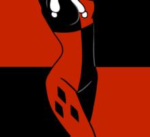 Harley Quinn Color Blocks Sticker