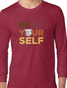 ROBUST Bear yourself colors Long Sleeve T-Shirt
