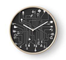 Office the scheme Clock