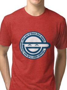 Laughing man Tri-blend T-Shirt