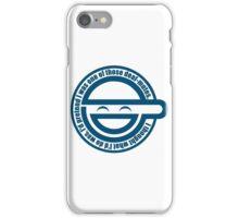 Laughing man iPhone Case/Skin