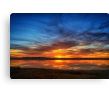 Sunburned Reflections Canvas Print