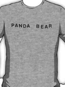 Panda Bear Logo T-Shirt