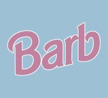Stranger Things Pink Barb Kids Tee