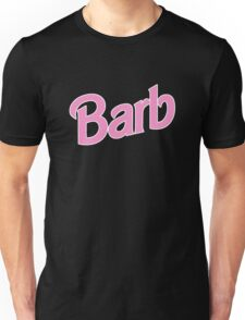Stranger Things Pink Barb Unisex T-Shirt