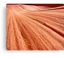 Desert Sand Design Three Canvas Print