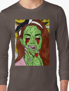 Zombie del rey Long Sleeve T-Shirt