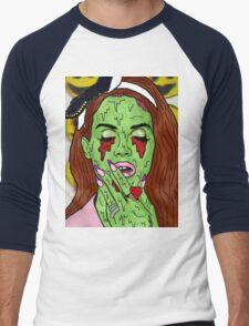 Zombie del rey Men's Baseball ¾ T-Shirt