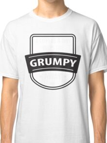 A coffee a day keeps the grumpy away Classic T-Shirt
