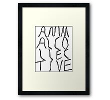 Animal Collective Logo Framed Print