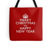 Best Wishes on Keep Calm Crown Tote Bag