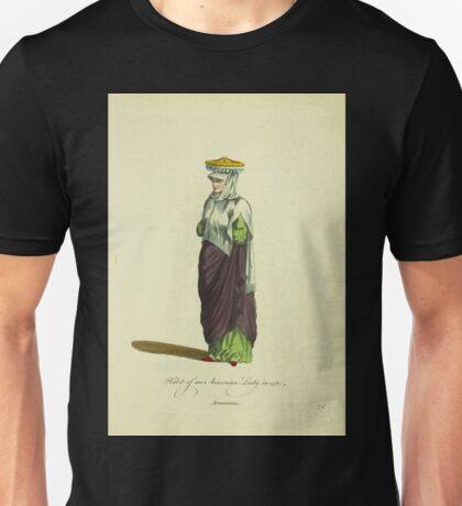 Habit of a Armenian ladiy or lady in 1581 Armenienne 065 Unisex T-Shirt