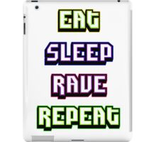 (BESTSELLER) Eat Sleep Rave Repeat iPad Case/Skin