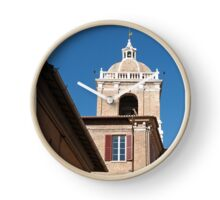 The bell tower of the town hall in Senigallia Clock