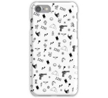 Sherlock Christmas pattern iPhone Case/Skin