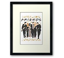 FRIENDS tv show cast  Framed Print
