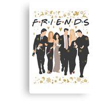 FRIENDS tv show cast  Canvas Print