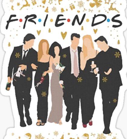 FRIENDS tv show cast  Sticker