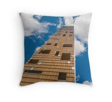 Tower in the clouds Throw Pillow