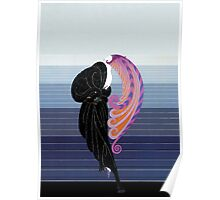"""Art Deco Costume by Erte """"Beauty and the Beast"""" Poster"""