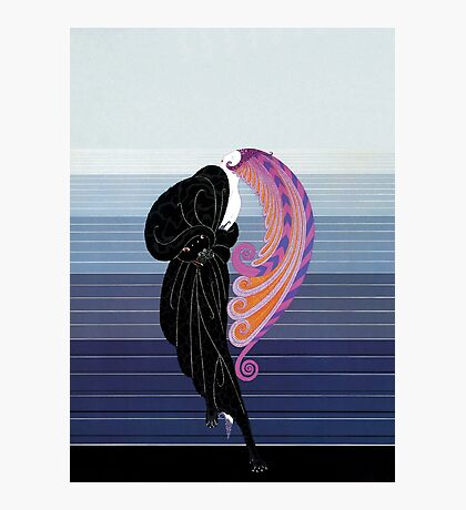 """Art Deco Costume by Erte """"Beauty and the Beast"""" Photographic Print"""
