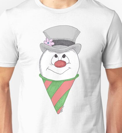 Frosty the Snow Cone Unisex T-Shirt