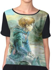 Nausicaa Of The Valley Of The Wind Chiffon Top