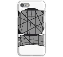 team text kreis muster cool vip logo design striche linien muster very important person  iPhone Case/Skin