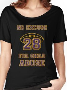 No Excuse for Child Abuse Women's Relaxed Fit T-Shirt