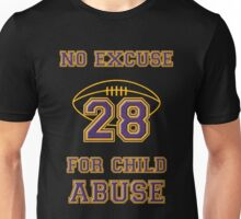 No Excuse for Child Abuse Unisex T-Shirt